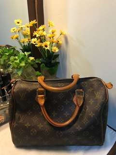 LV Speedy 30 japan bundle not authenthic