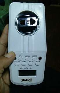 Digital timer auto switch on/off