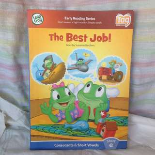 Buku anak anak - The Best Job - Early Reading Series dari Leap Frog