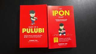 My Ipon Diary + Diary of a Pulubi by Chinkee Tan
