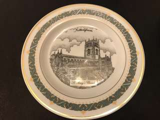 Nottingham Plate Full Set -4pcs- 限量版