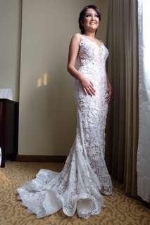 Preloved Premium Custom Wedding Dress by Anazofficial