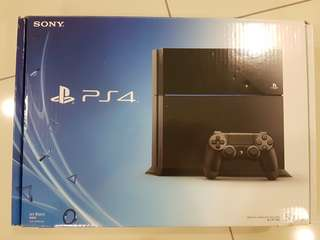 Sony Playstation 4 500GB Black (Excellent condition)