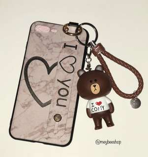 Softcase Korean Style With Brown