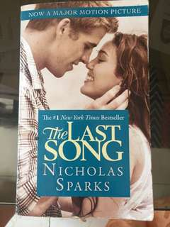 The Last Song (preloved)