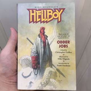 Hellboy - Odder Jobs Novel