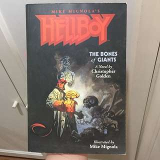 Hellboy - The Bones Of Giants Novel