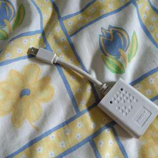 HDMI to Mini DP adapter