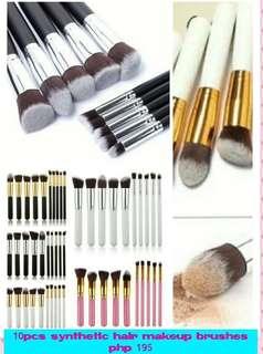 10pcd Kabuki brushes