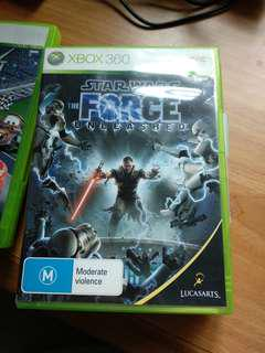 Star wars force unleashed xbox 360