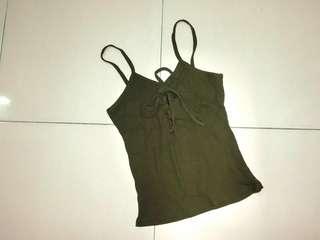 Army Green Singlet