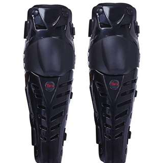 Tera 1 Pair of Adults Fashion Knee Shin Armor Protect Guard Pads