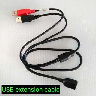 1-to-1 USB Extension Cable 1.0m