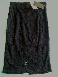 Black lacey skirt 50% off