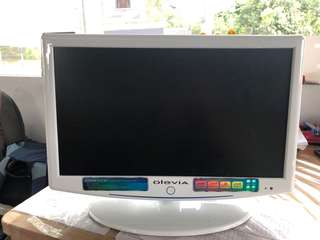 Olevia brand TV with build in DVD
