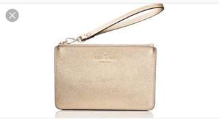 Authentic Kate spade wristlet