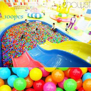 400pcs Soft Plastic Ocean Ball Funny Baby Swim Pit Toy Kids Outdoor Toys