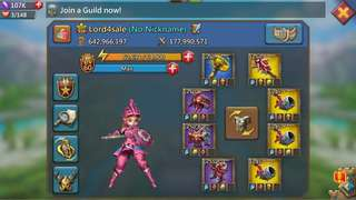 🚚 640mil Lords Mobile Acct