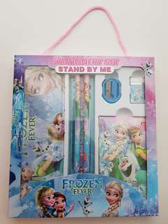 Frozen stationery set(new set)