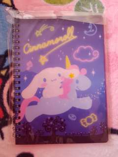 Cinnamoroll note book