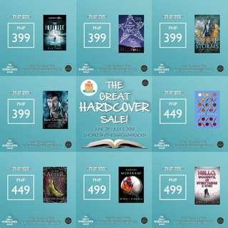 [LAST DAY OF SALE] Hardbound books!