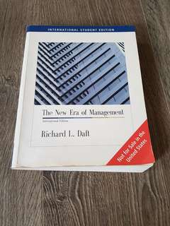 The new era of management