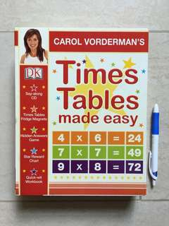 DK Times Tables made easy