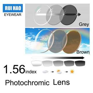 Optical Color Changing Lens
