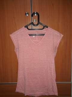 AIRWALK Basic Pink Top