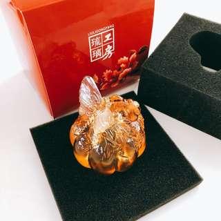 琉璃工房 蝴蝶🦋 紙震 擺放 裝飾品 Liu Li gong fang