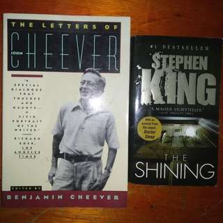 Stephen King, John Cheever, Shakespear, Doctorow