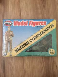 Airfix Soldier Toys 1981 : British Commando