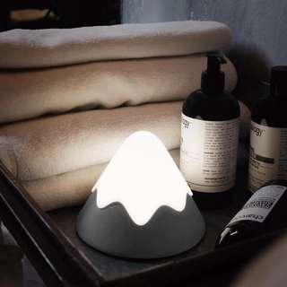 雪山造型夜燈