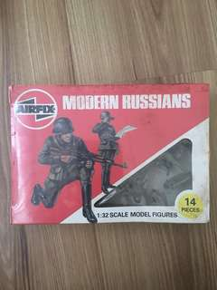 Airfix Soldier Toys 1981 : Modern Russian