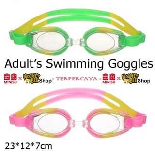 Japan Quality - Kacamata Renang Adult's Swimming Goggles Miniso