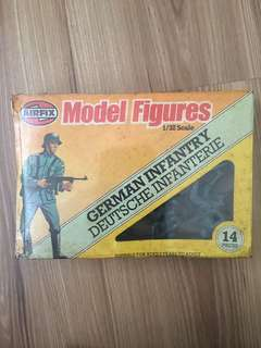 Airfix Soldier Toys 1981 : German Infantary