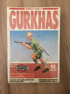 Airfix Soldier Toys 1981 : Gurka