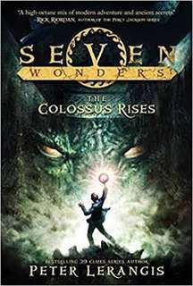 The Colossus Rises by Peter Lerangis paperback, Seven Wonders book 1