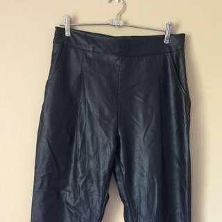 Mossman Faux Leather Pants