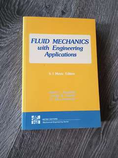 Fluid mechanics with engineerign application