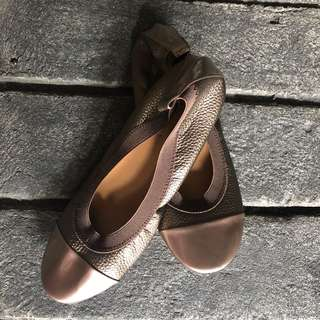 Bronze Doll Shoes