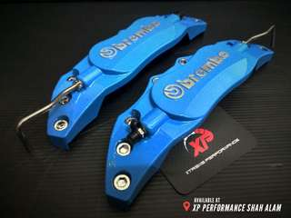 Brembo wilwood Aluminium Brake Caliper Cover blue color large