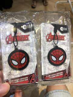 Spider-Man Ezlink charm