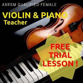 Piano & Violin Lesson