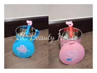 Children Cup (Peppa pig with Spoon)