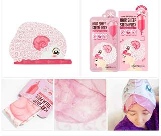 🚚 Mediheal Hair Sheep Steam Pack
