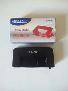 Pembolong Kertas ( Two Hole Punch )