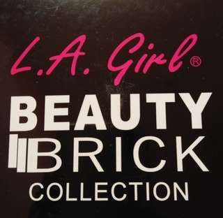 LA Girl Beauty Brick Collection Powder