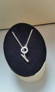 Links Of London 925 Silver T~Bar Pendant Chain Necklace 全新純銀頸鏈