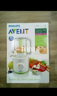 Avent baby food processor